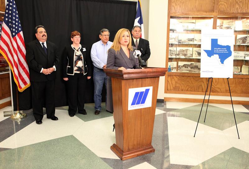 TWC Chairman Tom Pauken Announces Jobs in McAllen